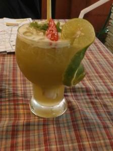Lemongrass, chilli and lime iced tea